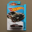 Hot Wheels 2015 HW City Ford Mustang GT Concept (black) (SEE CONDITION)