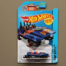Hot Wheels 2015 HW City Loopster (blue) (hands down variation) (SEE CONDITION)