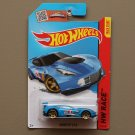 Hot Wheels 2015 HW Race Corvette C7R (blue) (SEE CONDITION)