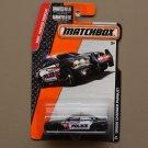 Matchbox 2015 MBX Heroic Rescue Dodge Charger Pursuit (black)