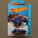 Hot Wheels 2015 HW City Loopster (blue) (hands up variation) (SEE CONDITION)
