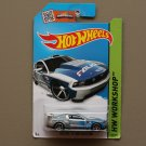Hot Wheels 2015 HW Workshop Custom '12 Ford Mustang (silver) (SEE CONDITION)