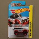 Hot Wheels 2015 HW Off-Road Custom Ford Bronco (grey) (SEE CONDITION)