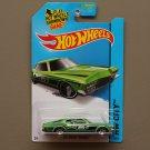 Hot Wheels 2015 HW City '71 Buick Riviera (green)