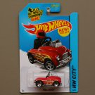 Hot Wheels 2015 HW City Pedal Driver (red)