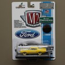 M2 Machines 2015 Auto Drivers Ford 1:64 '70 Ford Torino GT 429 SCJ (yellow) (CHASE CAR)