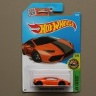 Hot Wheels 2016 HW Exotics Lamborghini Huracan LP 610-4 (orange) (SEE CONDITION)