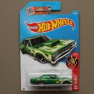 Hot Wheels 2016 HW Flames '69 Dodge Coronet Super Bee (green)
