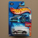 Hot Wheels 2004 First Editions Tooned Ferrari 360 Modena (ZAMAC silver)