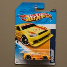 Hot Wheels 2012 HW Main Street Amazoom (yellow) (SEE CONDITION)