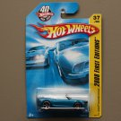 Hot Wheels 2008 First Editions Camaro Convertible Concept (blue)