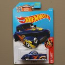 Hot Wheels 2016 HW Flames '41 Willys (blue) (SEE CONDITION)