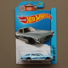 Hot Wheels 2015 HW City '71 Buick Riviera (blue - Kmart Excl.)