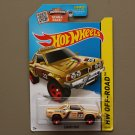 Hot Wheels 2015 HW Off-Road Subaru Brat (beige - Kmart Excl.)