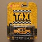 Hot Wheels 2015 Retro Entertainment '74 Checker Taxi Cab (Taxi)