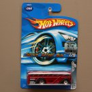 Hot Wheels 2005 Red Lines Surfin' School Bus (red)