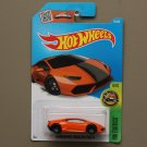 [FULL WHEEL VARIATION] Hot Wheels 2016 HW Exotics Lamborghini Huracan LP 610-4 (orange)