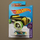 Hot Wheels 2016 HW Glow Wheels Rip Rod (black) (Treasure Hunt)