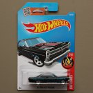 Hot Wheels 2016 HW Flames '66 Ford Fairlane 427 (black)