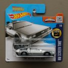 Hot Wheels 2016 HW Screen Time Back To The Future Delorean Time Machine (Hover Mode)