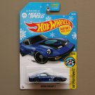 Hot Wheels 2016 HW Speed Graphics Nissan Fairlady Z (blue)(Need For Speed)(SEE CONDITION)(Snowflake)