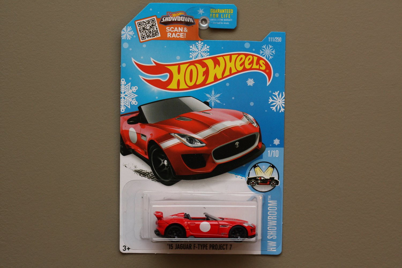 [ALL SMALL WHEELS ERROR] Hot Wheels 2016 HW Showroom '15 Jaguar F-Type Project 7 (red) (Snowflake)