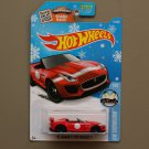 [ALL SMALL WHEELS ERROR] Hot Wheels 2016 HW Showroom '15 Jaguar F-Type Project 7 (red) (Snowflake)