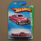 Hot Wheels 2010 Treasure Hunts Custom '53 Cadillac (spectraflame pink) (Super Treasure Hunt)