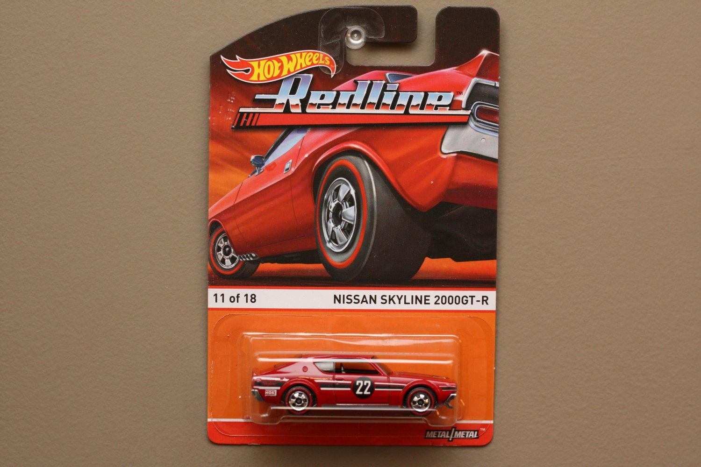 Hot Wheels 2015 Heritage Redline Nissan Skyline 2000 GT-R