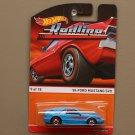 Hot Wheels 2015 Heritage Redline '84 Ford Mustang SVO