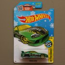 Hot Wheels 2016 HW Speed Graphics Toyota Supra (green) (Snowflake)