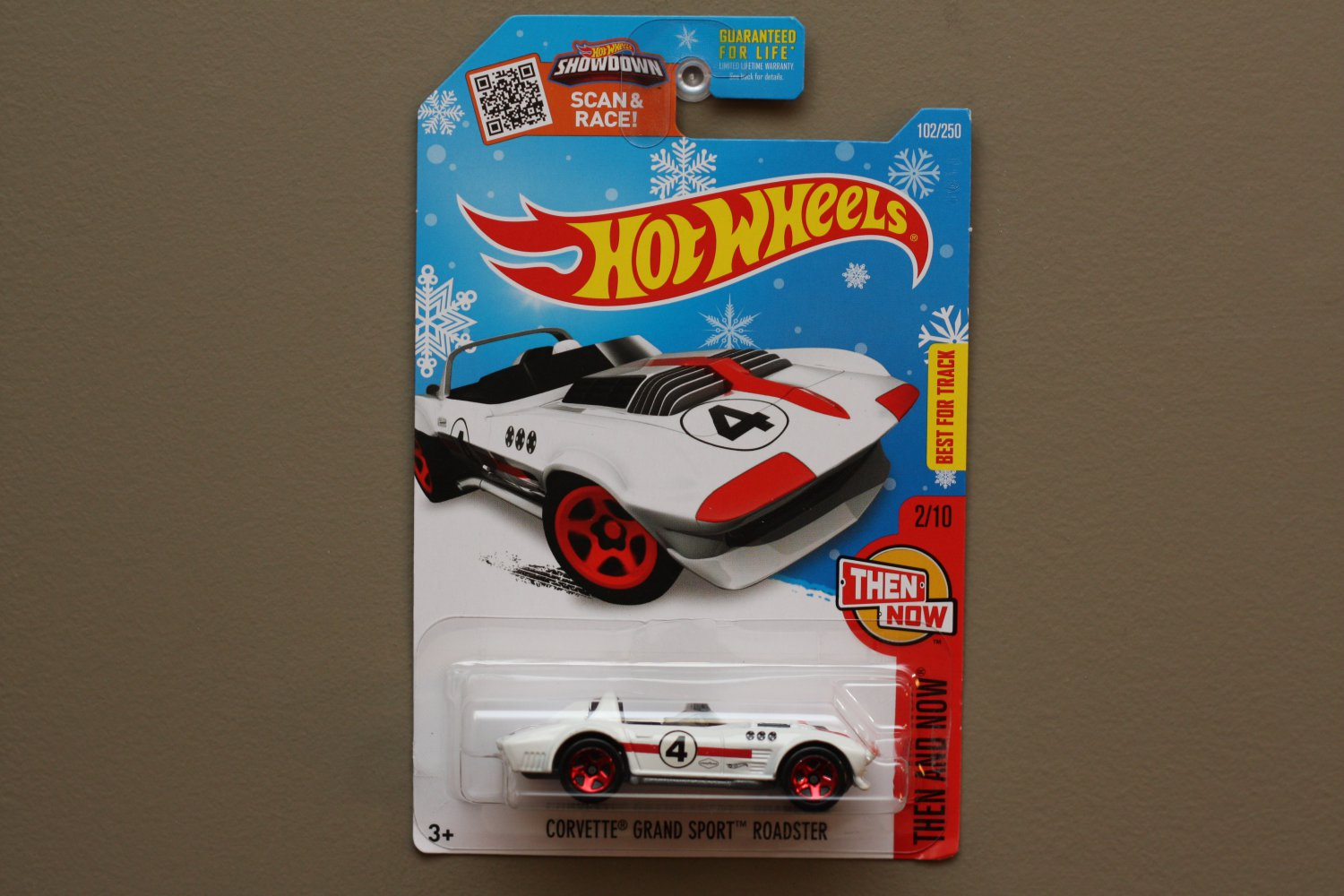 Hot wheels 2016 then and now corvette grand sport roadster for 9 salon hot wheels 2016