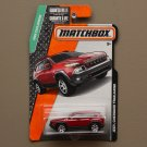 Matchbox 2015 MBX Explorers Jeep Cherokee Trailhawk (red) (SEE CONDITION)