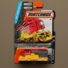 Matchbox 2016 MBX Adventure City Heavy Railer Freighter Train (red/yellow)