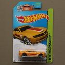 Hot Wheels 2015 HW Workshop '13 Hot Wheels Chevy Camaro Special Edition (yellow)
