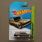 Hot Wheels 2014 HW Workshop '64 Chevy Nova Station Wagon (spectraflame bronze) (Super Treasure Hunt)