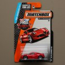 Matchbox 2014 MBX Adventure City Alfa Romeo 4C (red)