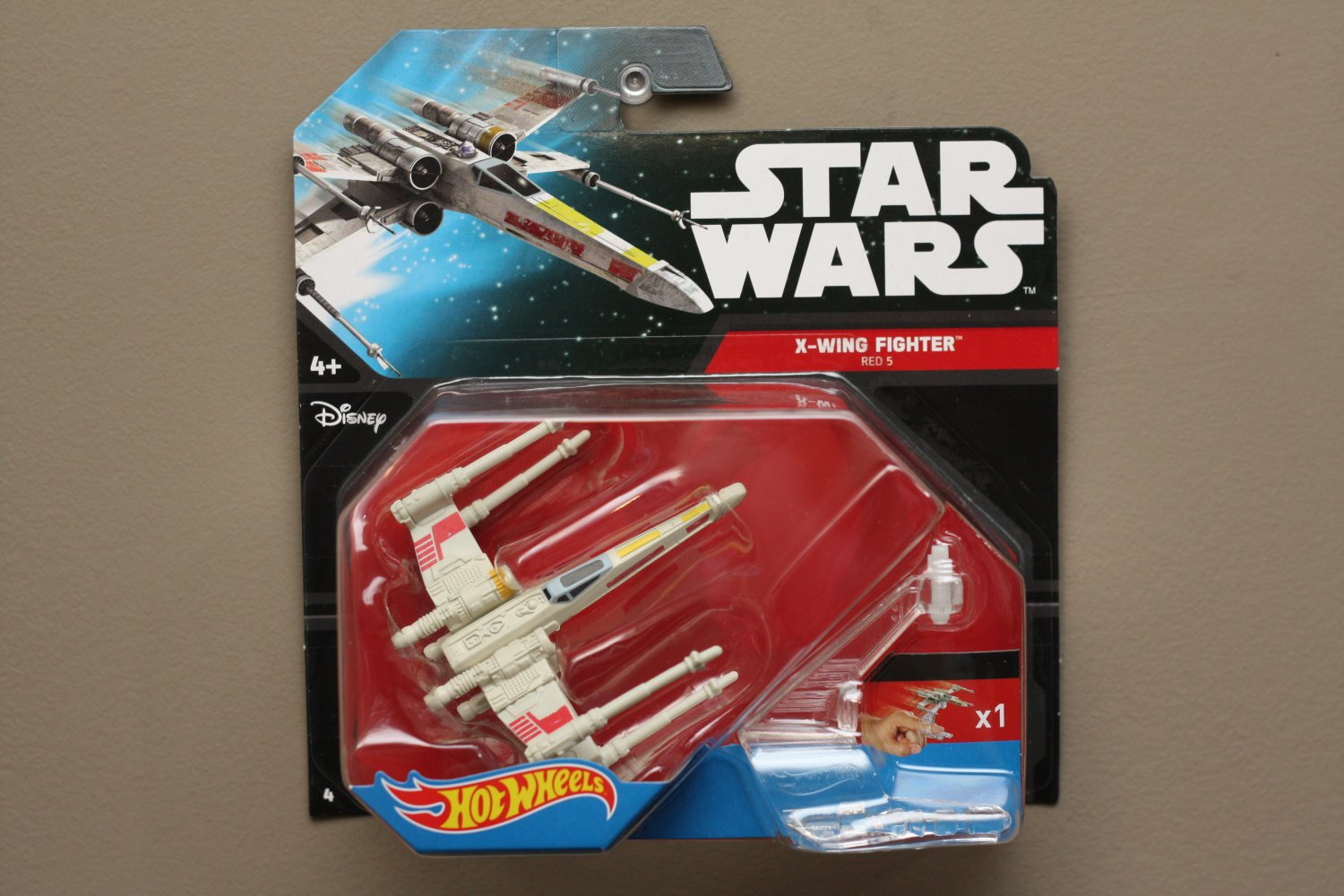Five Star Auto Sales >> Hot Wheels 2015 Star Wars Ships Rebel X-Wing Fighter (Red 5)