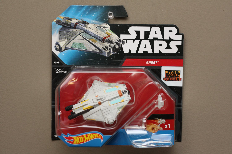Hot Wheels 2015 Star Wars Ships Ghost (Star Wars Rebels)