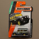 Matchbox 2014 MBX Explorers Land Rover Defender 110 (grey)