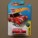 Hot Wheels 2016 HW City Works '67 Austin Mini Van (red) (SEE CONDITION)