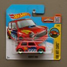 Hot Wheels 2016 HW Art Cars Morris Mini Cooper (red) (SEE CONDITION)