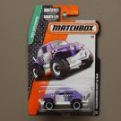 Matchbox 2015 MBX Explorers Volkswagen Beetle 4x4 (purple)