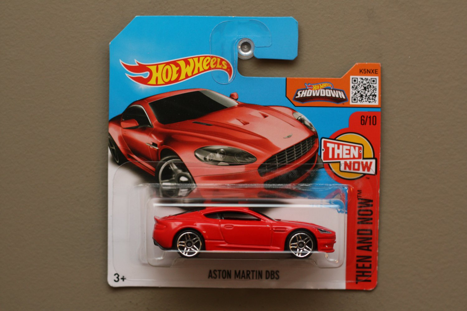 Hot Wheels 2016 Then And Now Aston Martin Dbs Red