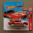 Hot Wheels 2016 HW Flames '70 Camaro (red)