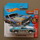 Hot Wheels 2016 HW Flames '69 Mercury Cyclone (blue)