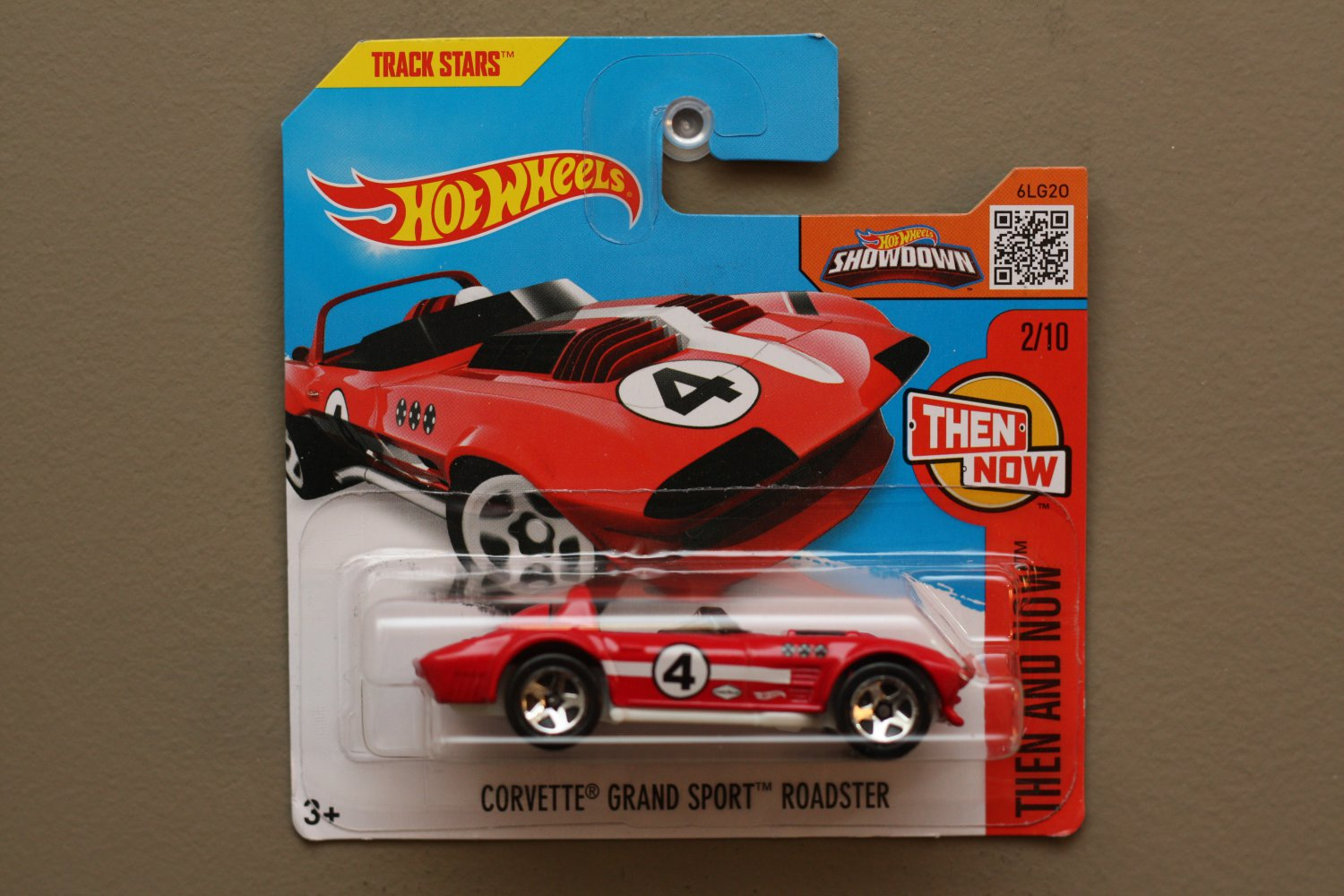 Hot Wheels 2016 Then And Now Corvette Grand Sport Roadster