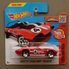 Hot Wheels 2016 Then And Now Corvette Grand Sport Roadster (red)