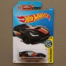 Hot Wheels 2016 HW Speed Graphics '14 Corvette Stingray (black)