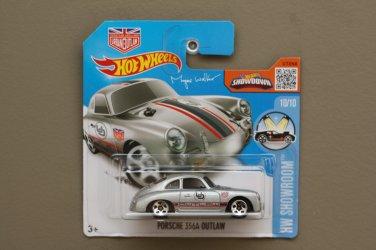 Hot Wheels 2016 HW Showroom Porsche 356A Outlaw (silver